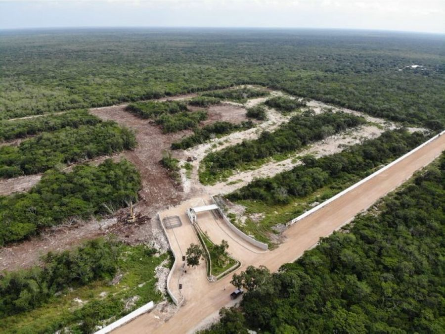 terrenos residenciales sobre carretera progreso punta misne