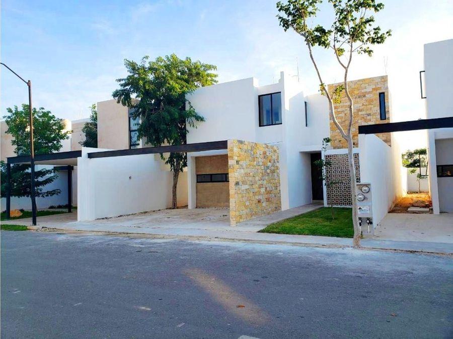 hermosas casas zelena en conkal