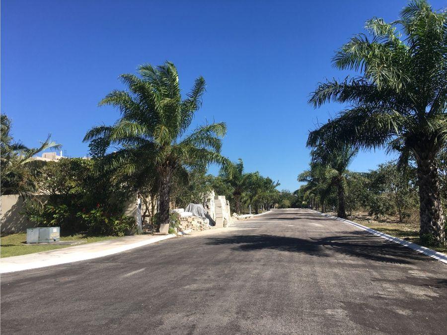 terrenos en residencial artisana temozon norte yucatan