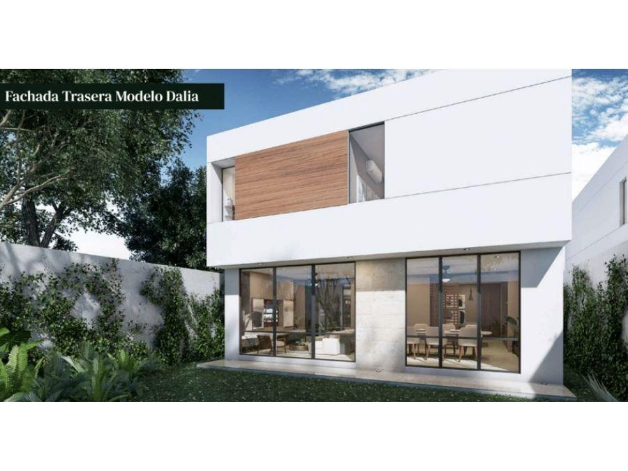 residencial fiora tiene el hermoso modelo dalia en cholul