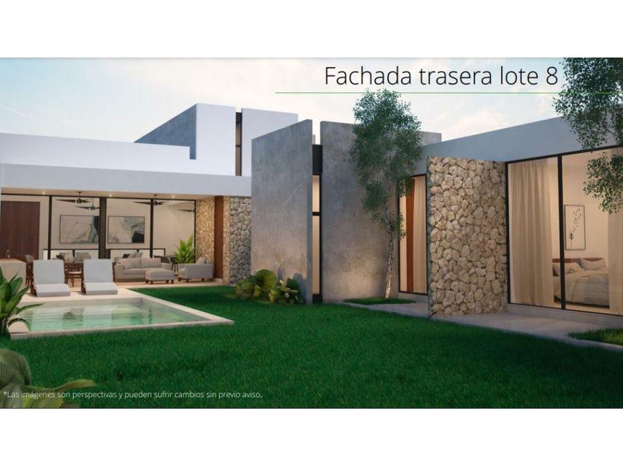 2 lujosas residencias en privada villarealtemozon yucatan
