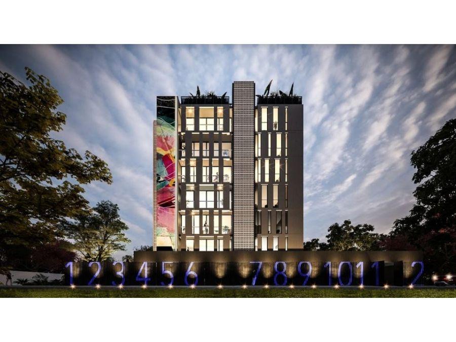 asoluta es una torre de departamentos vanguardistas en montes de ame