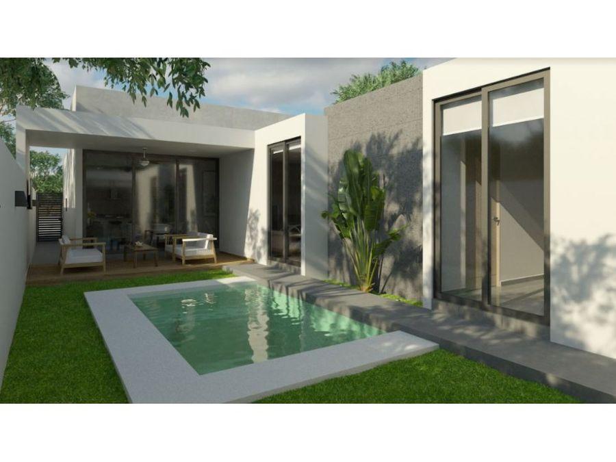 preciosas residenciales de 1 piso luminadentro del desarrollo nadira