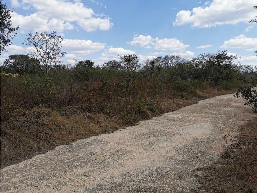 se vende terreno cerca de gran san pedro cholul