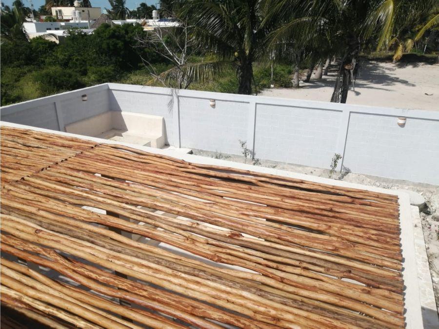 lujosa casa balam a tres calles del mar de chuburna progresoyuc