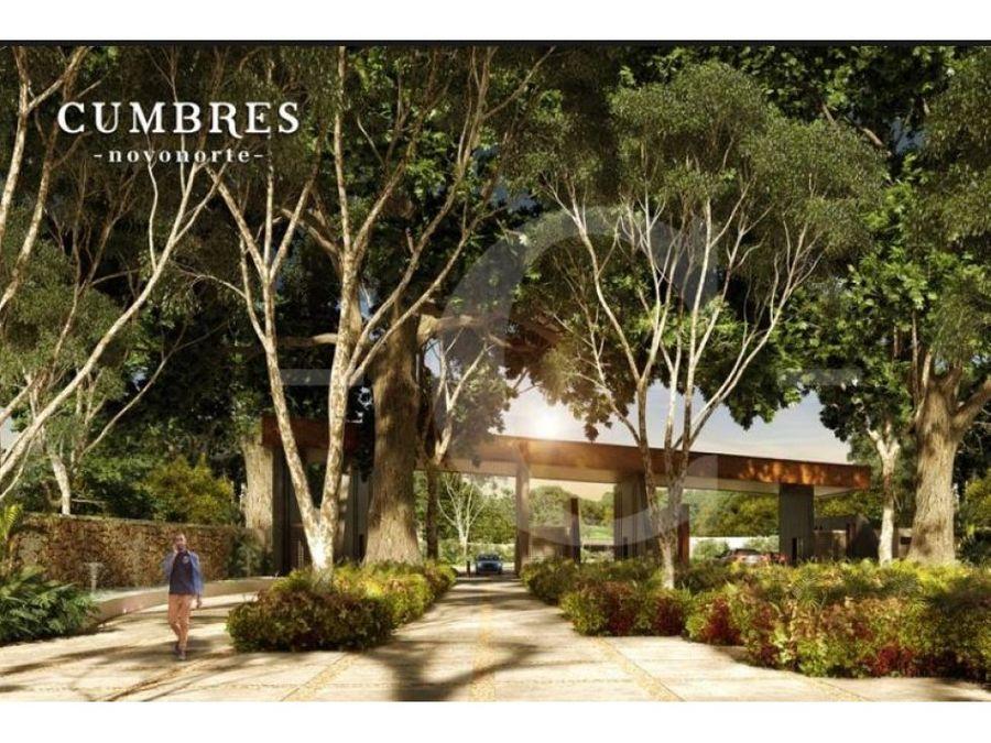 residencias cumbres en conkal de 2 o 3 recamaras