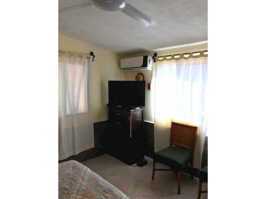 casa de un piso en la playa amueblada chelem yucatan