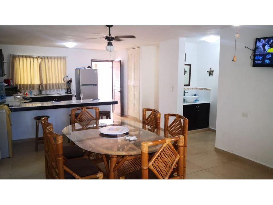 casa de 2 piso amueblada en chicxulub yucatan