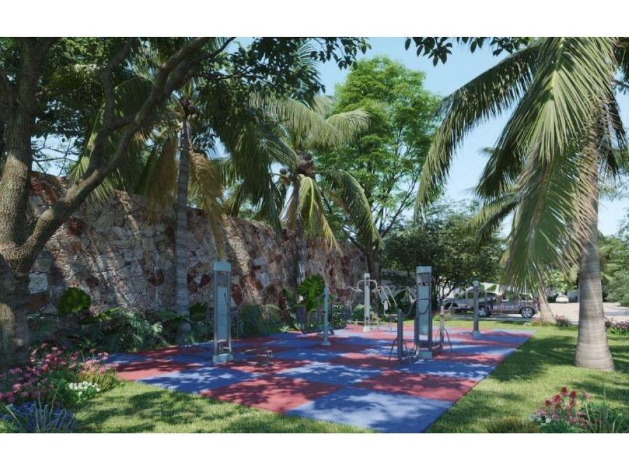 residencial yucalpeten lotes y terrenos con amenidades porto vela