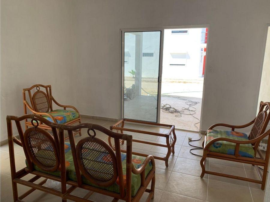 casa nueva cerca del mar en chicxulub puerto