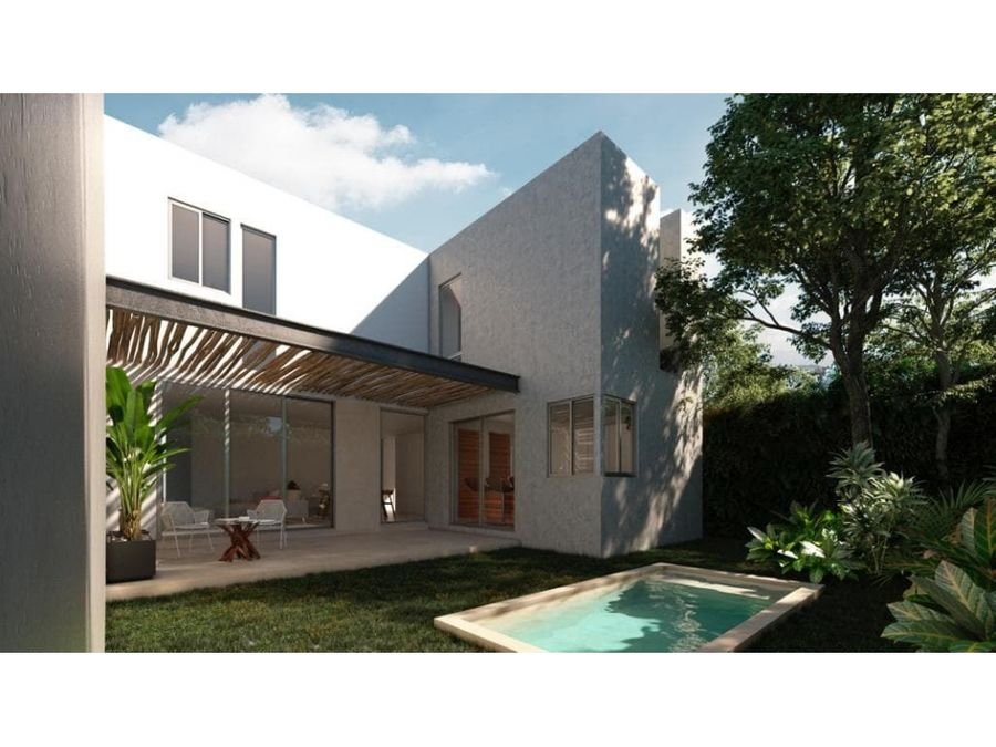zelena residencial en conkal merida yucatan