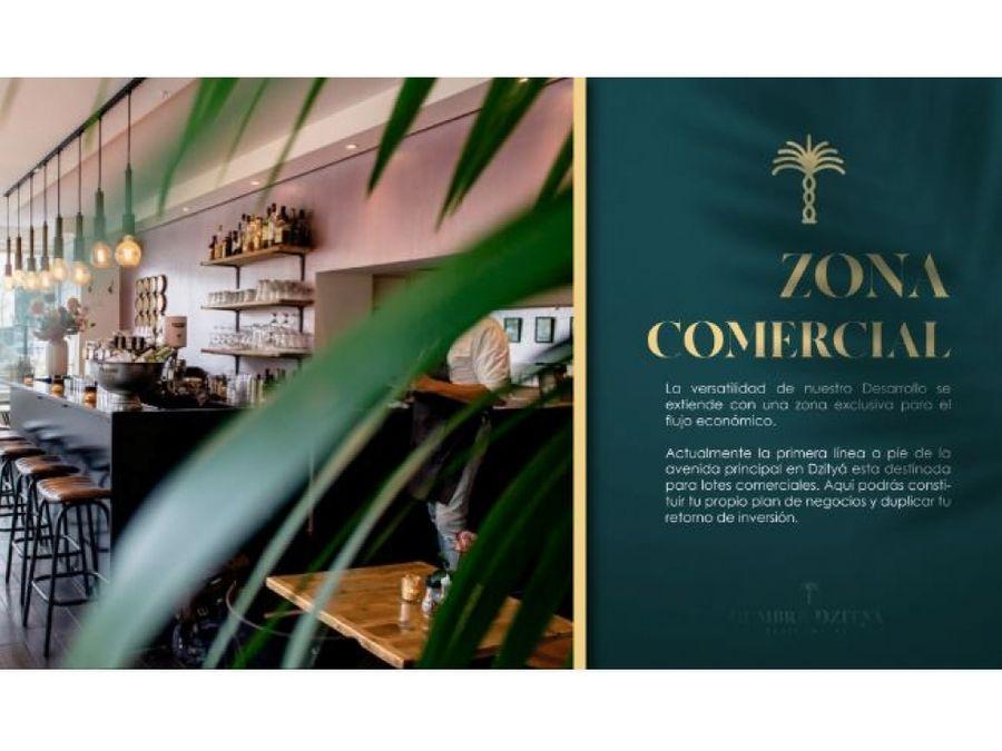 lotes residencial cumbre dzitya yucatan