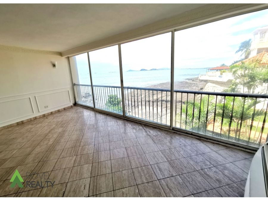 apartamento en alquiler en paitilla vista al mar 460m2
