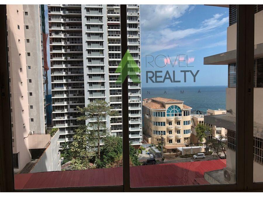 venta en punta paitilla 419 m2 con terraza privada