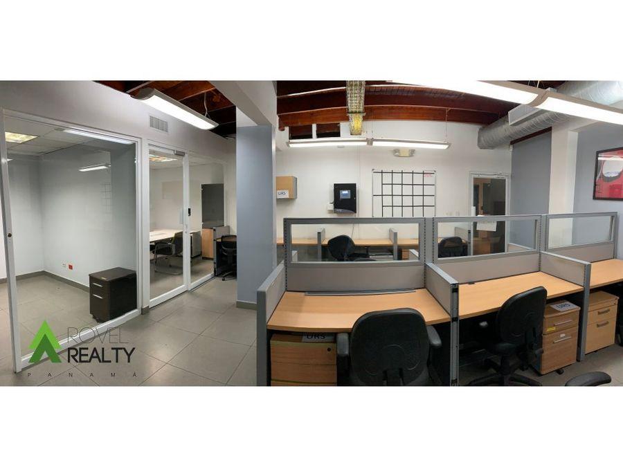 550 m2 de oficina en obarrio