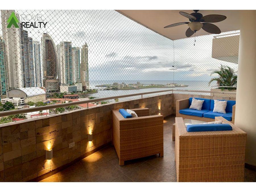 apartamento de lujo en punta paitilla vista al mar