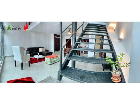 apartamento en vitro loft amoblado