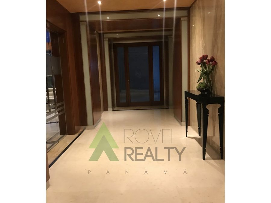 lujoso apartamento en punta pacifica 278 m2