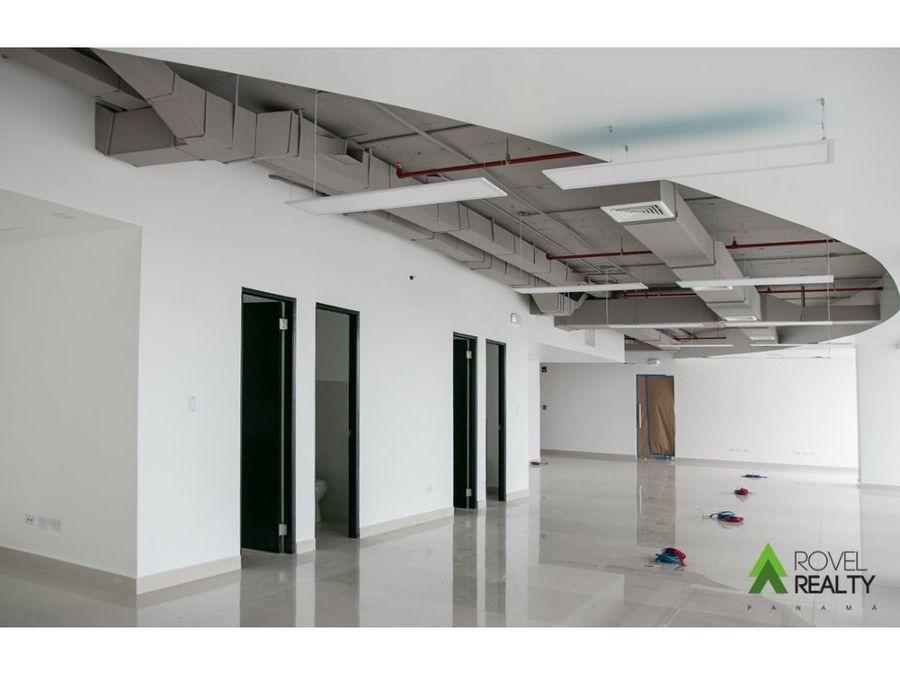 oficina en financial park 244 m2