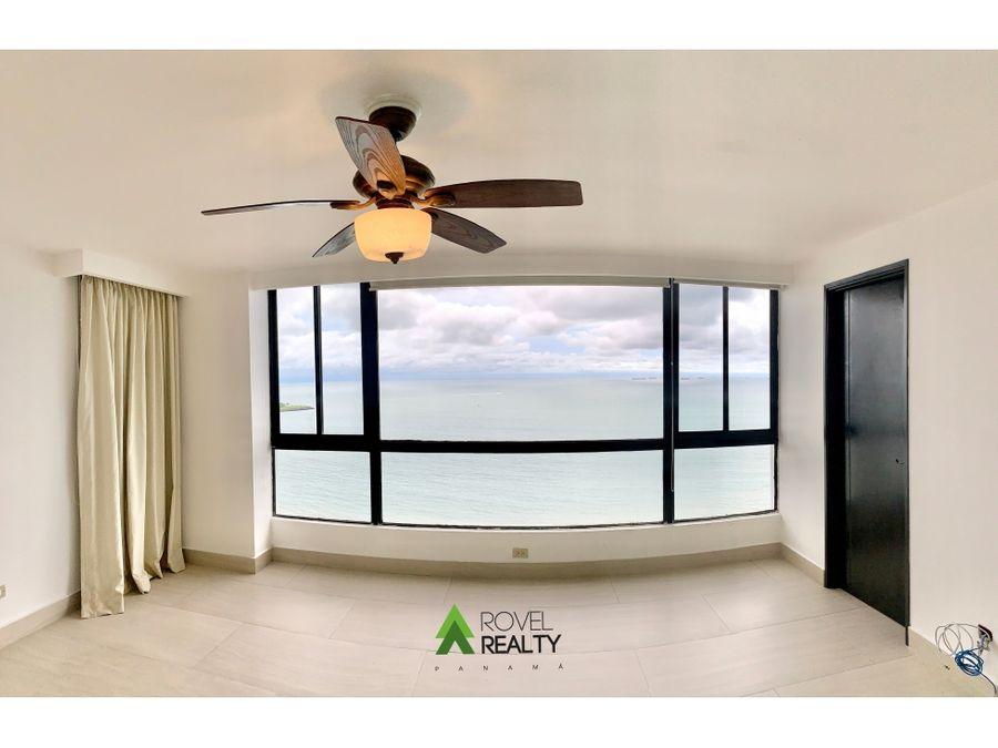 apartamento en crillon punta paitilla frente al mar