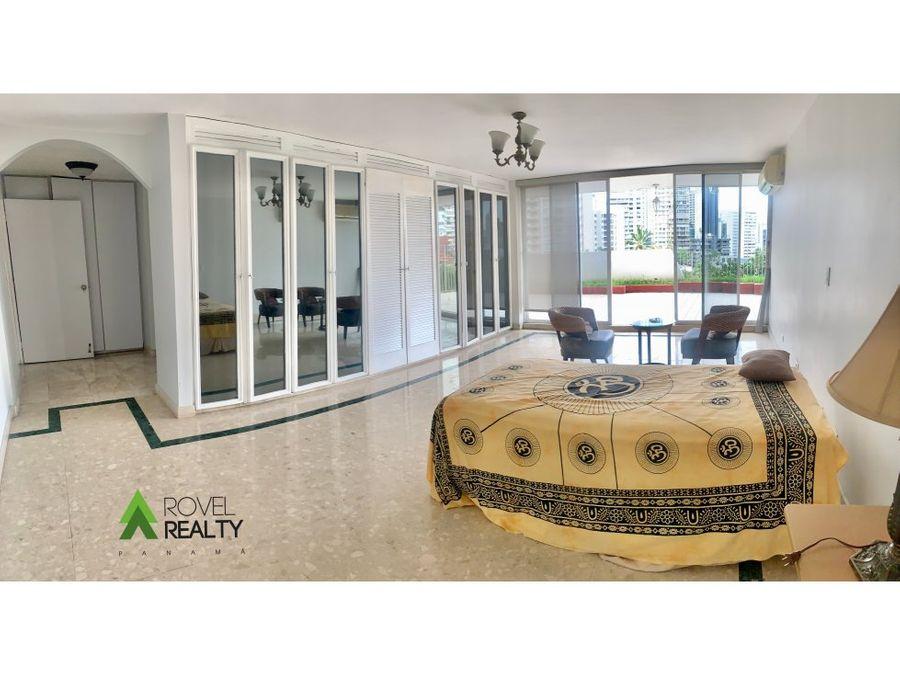 venta en punta paitilla 413 m2 con terraza privada