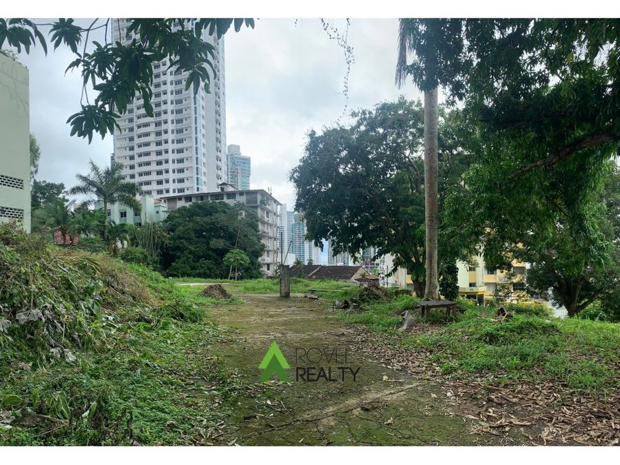 terreno para edificio en la cresta
