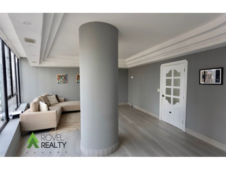 apartamento en bayside punta paitilla 542 m2 piso alto