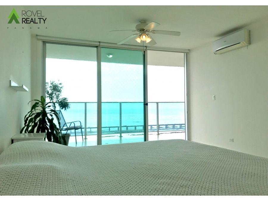 apartamento en ph nautica amoblado con vista al mar