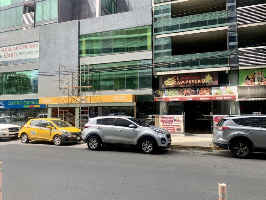 local para restaurante en obarrio