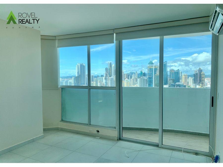 apartamento en marina palza piso alto con vista al mar
