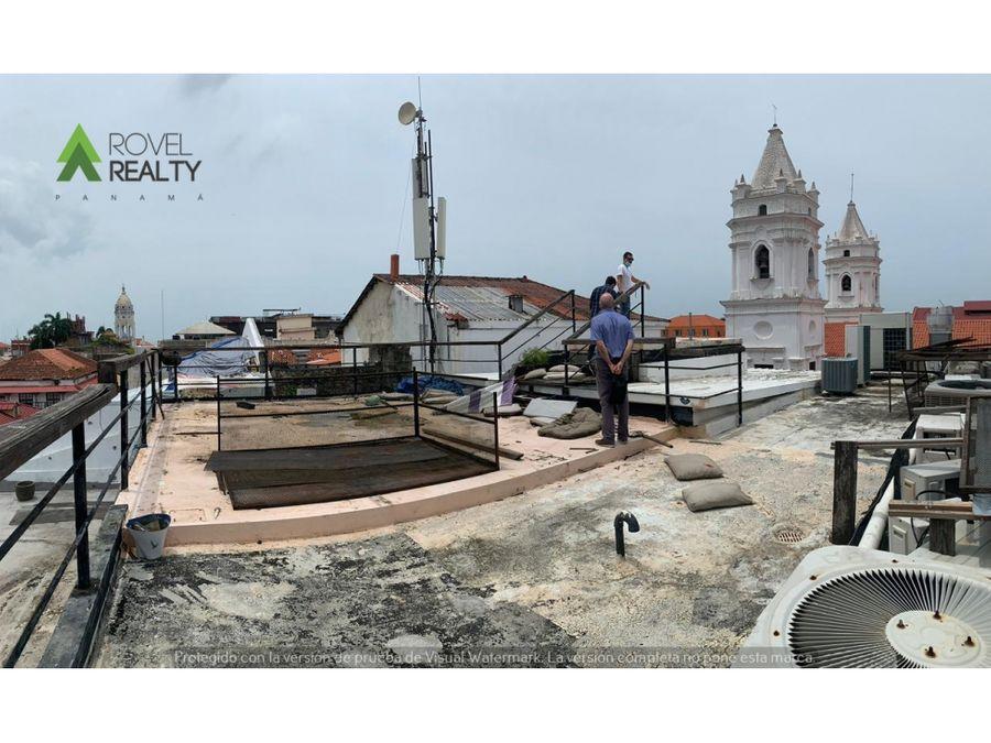 rooftop en casco antiguo diagonal a plaza de la independencia