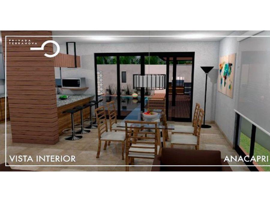villa ana capri model