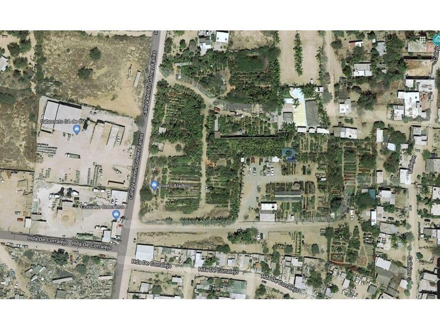 magnifico terreno en santa rosa 4707m2 sjc en venta