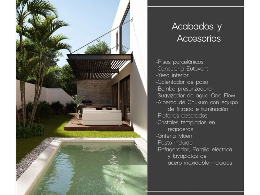 house for sale in the country club yucatan