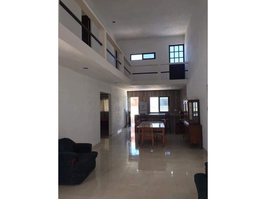 casa de 4 habitaciones y piscina en chixchulub puerto