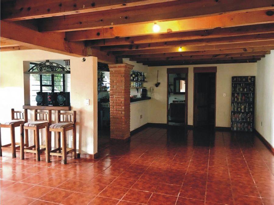 casa estilo mexicano en contadero