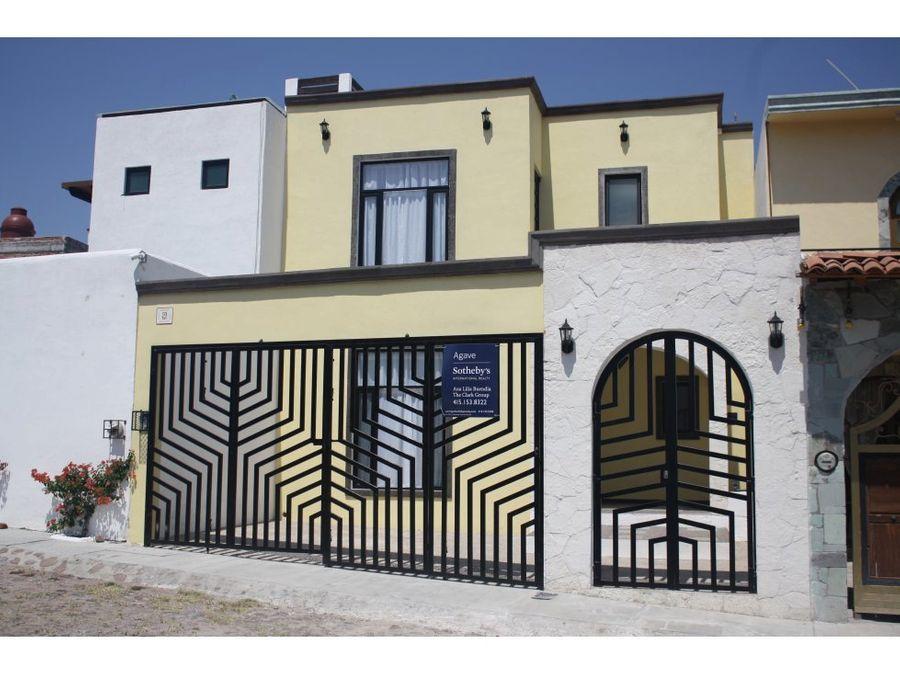 casa en venta san miguel de allende san javier