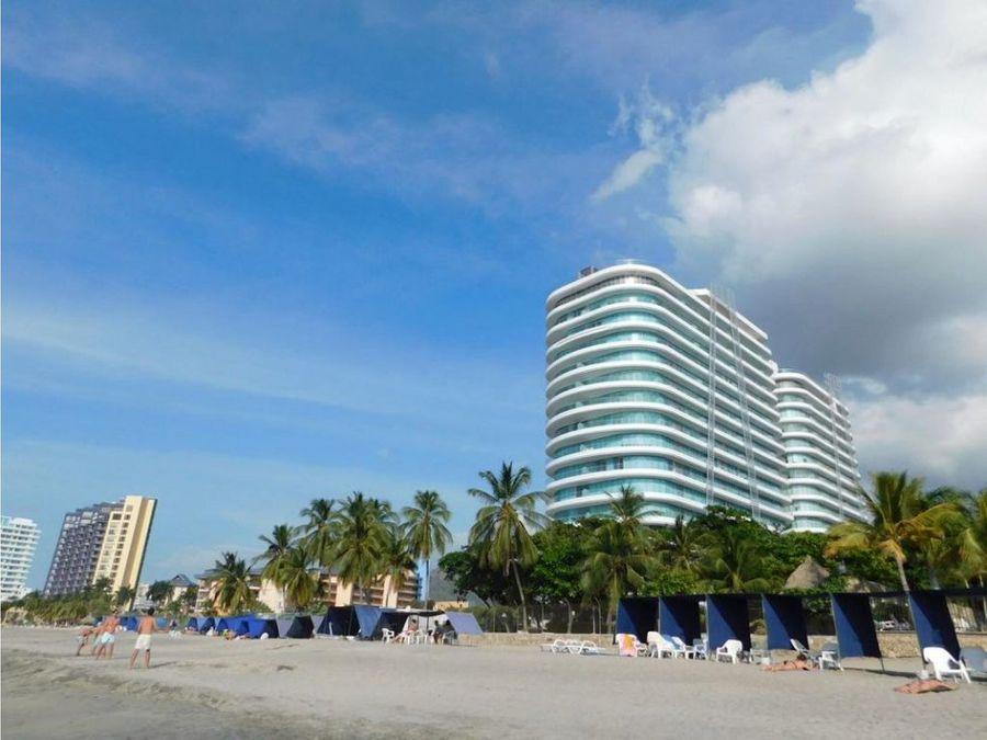 two towers apartamento en santa marta a la venta