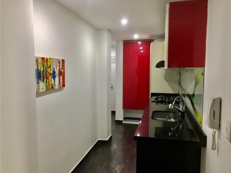 venta apartamento sta barbara 785m2 2 alcobas 2 banos remodelado