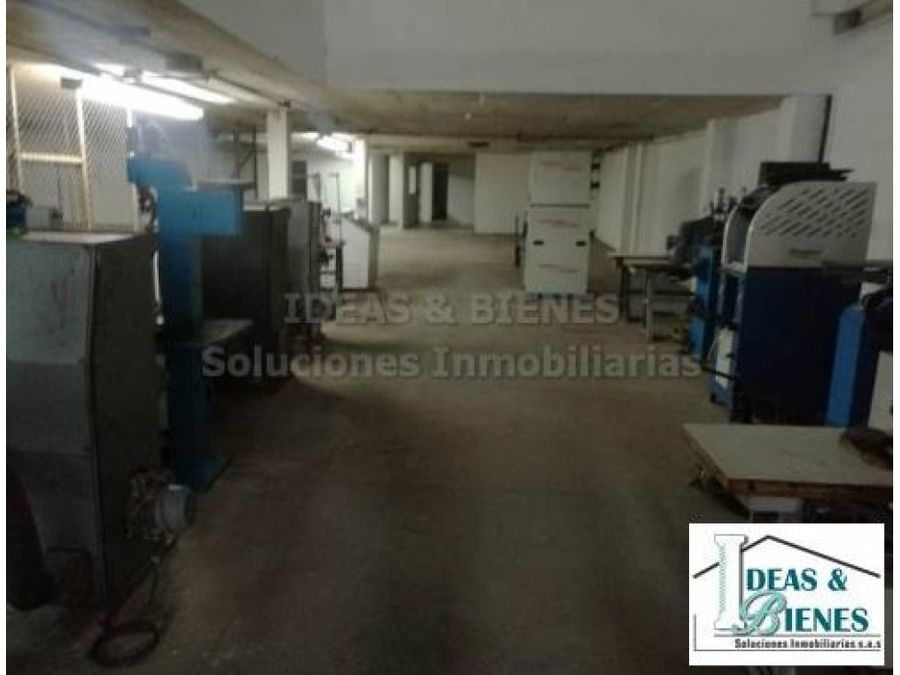 bodega en arriendo medellin sector guayabal