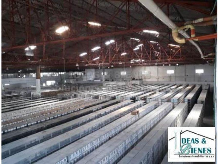 bodega industrial para arriendo en itagui