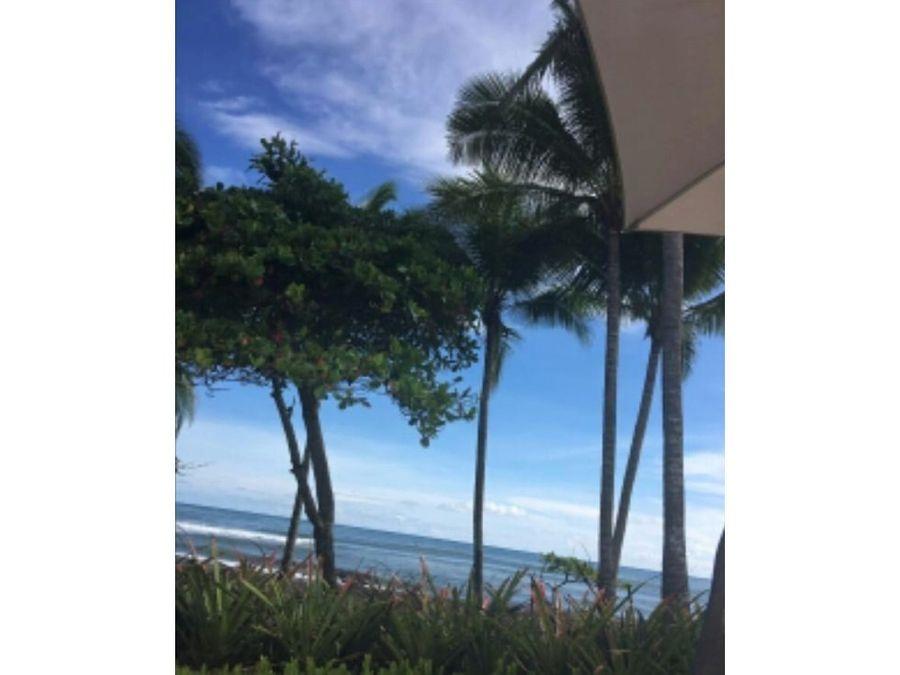 lote residencial privado en playa hermosa jaco