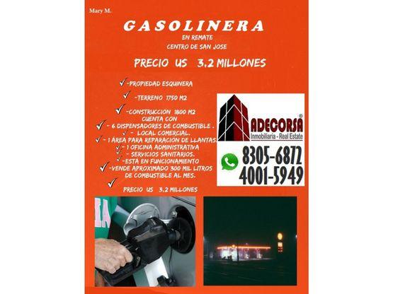 gasolinera en san jose centro para venta