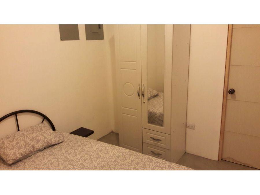 apartamento amoblado en el carmen de guadalupe