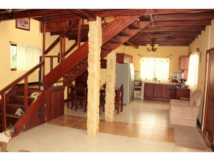 casa amueblada en pabellon de santa ana