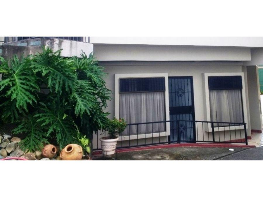 apartamento en pozos de santa ana para alquiler