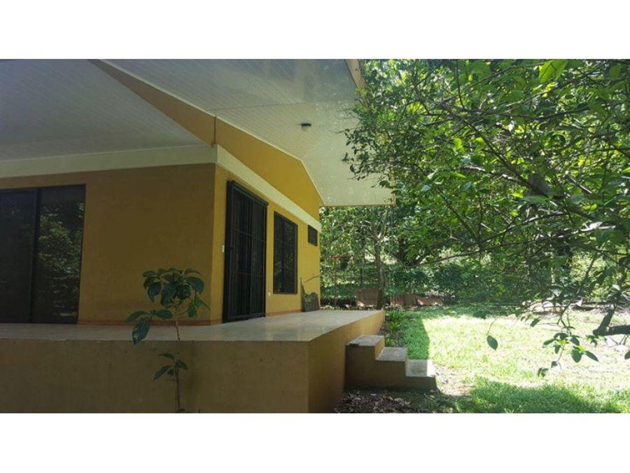hermosa quinta con casa en orotina de alajuela