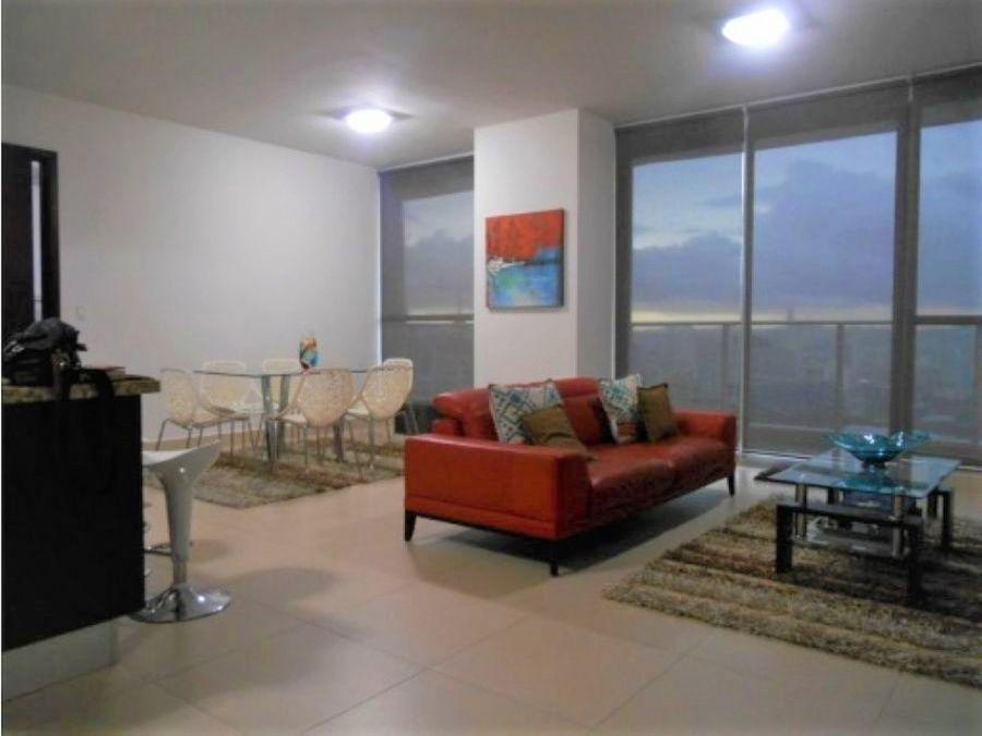 apartamento amoblado ph de lujo en venta 95 mts2 punta pacifica vl