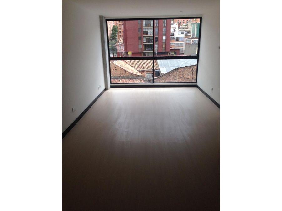 venta apartaestudio exterior 38mtrs chapinero alto