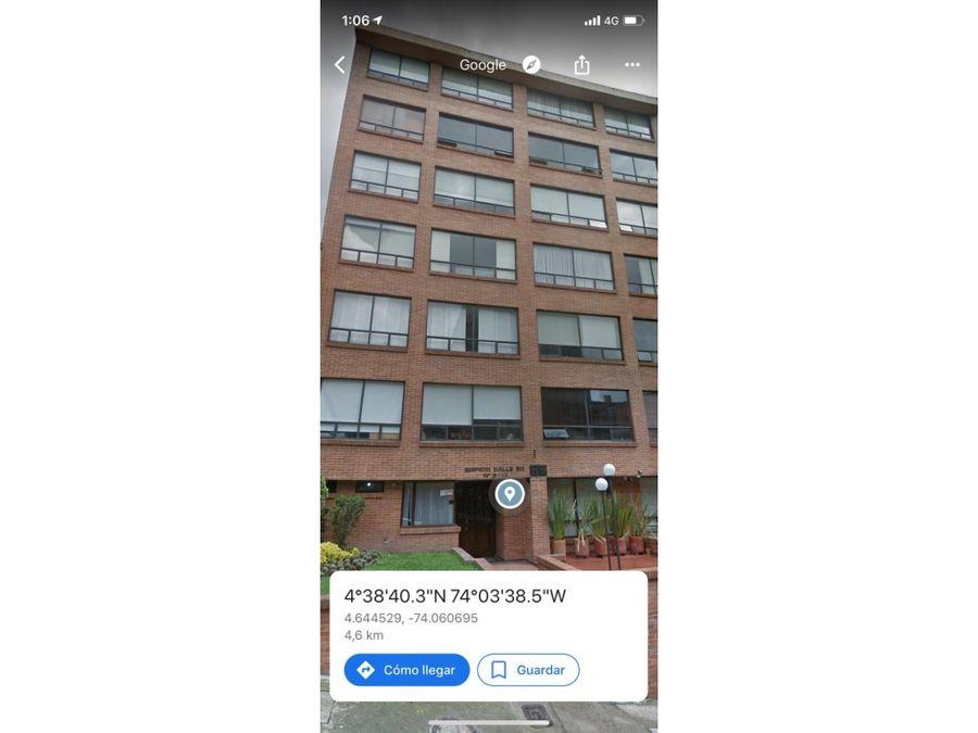 venta apartaestudio 35mtrs 10mtrs terraza chapinero alto